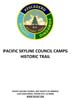 Pacific Skyline Council Camps HistoricTrail Guide