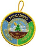 PacSky Council Camps Historic Trail patch