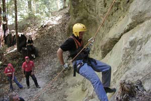 Climbing at Cutter