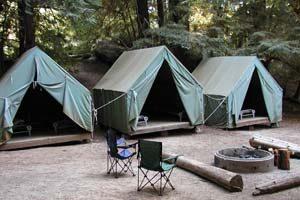 Cutter platform tents
