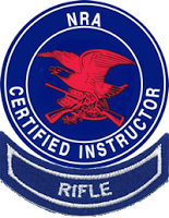 NRA Rifle Instructor logo