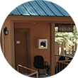Exterior of Camp Oljato's Health Lodge