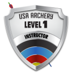 USA Archery Level 1 Instructor logo