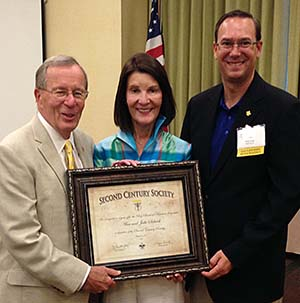 Bill and Ann Stark receive national award