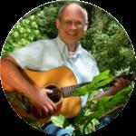 Bob Keller playing guitar