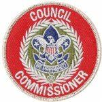 Council Commissioner patch