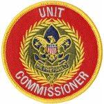 Unit Commissioner patch