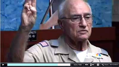 George Maher, 85-year-old Eagle Scout