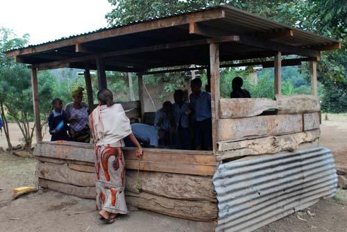 Old school kitchen, Tanzania