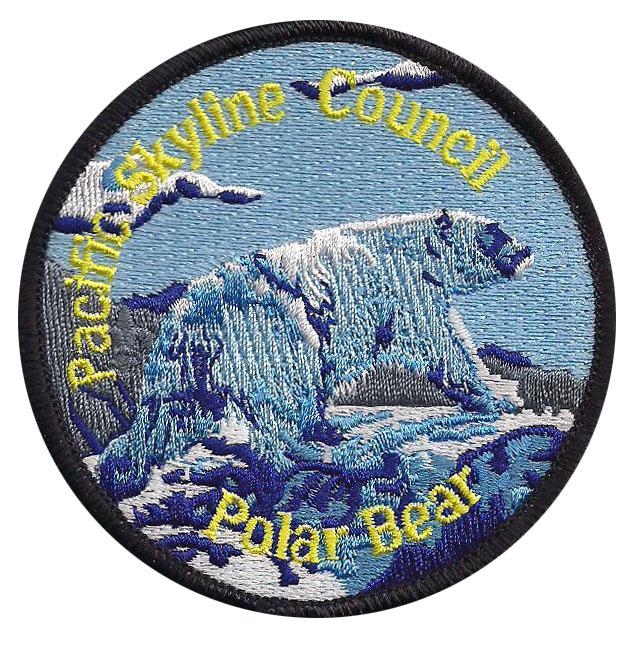 Polar Bear Award patch