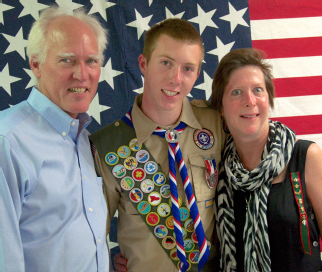 Patrick Selover and parents
