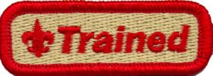 "Red ""Trained"" patch"