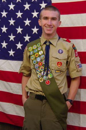 Zach Plante, Eagle Scout, Troop 222, Menlo Park, CA