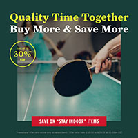 Scout Shop 30% off indoor products