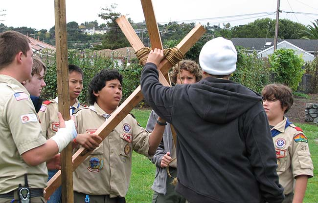 Pioneering Scouts