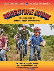 2020 Adventure Guide cover