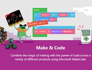 MakeCode screenshot