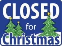 Closed for Christmas icon