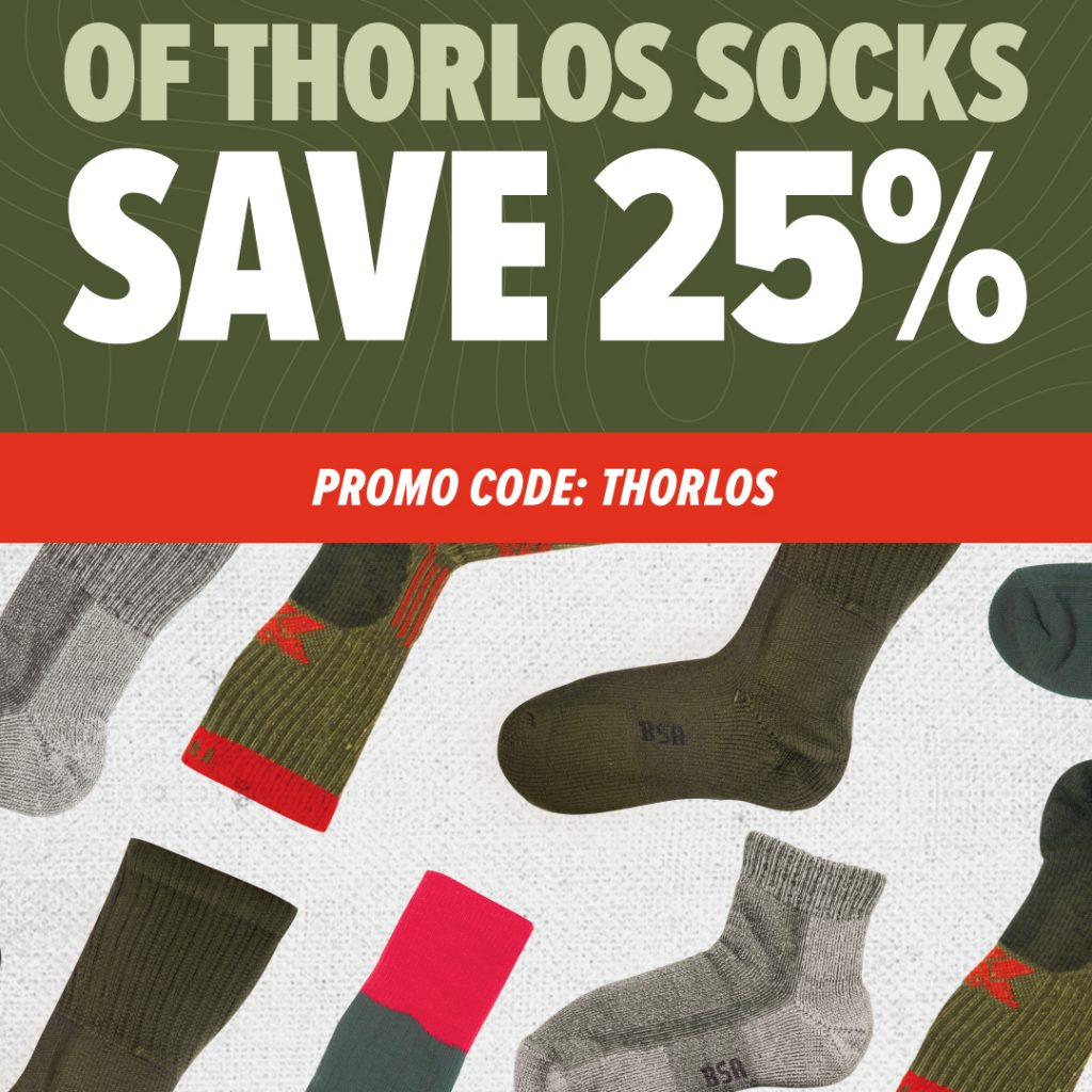 Thorlos Save 25% when you buy 2