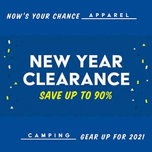 New Year Clearance, Save Up To 90% graphic