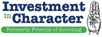 Investment in Character logo (formerly Friends of Scouting)